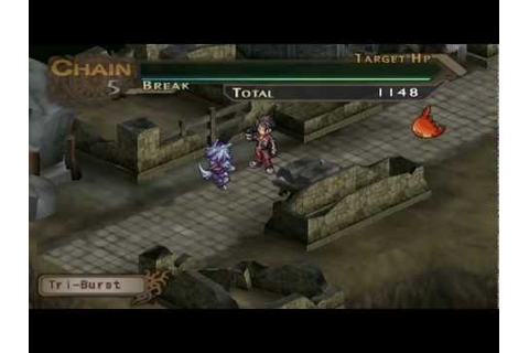 [PSP] Blazing Souls Accelate Gameplay - YouTube