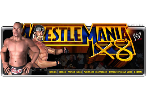 WWE WrestleMania X8 - cube - Walkthrough and Guide - Page ...