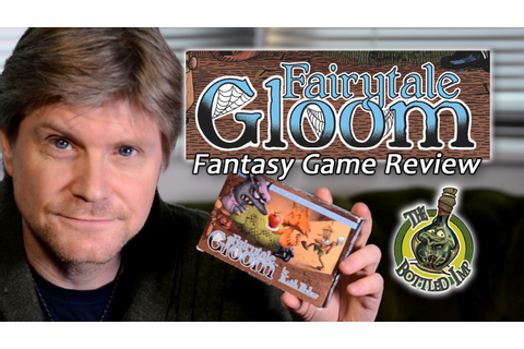 'Fairytale Gloom'- Fantasy Board Game Review - YouTube