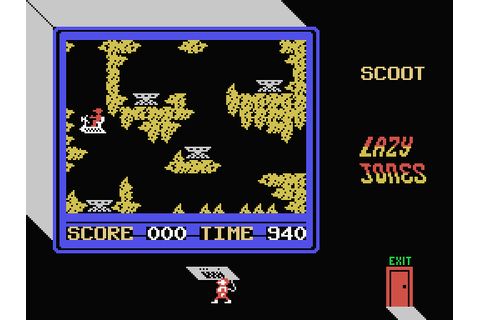 Lazy Jones (1985) by Terminal Software MSX game