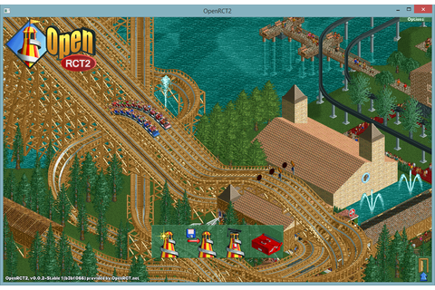OpenRTC2 - Free Tycoon Game Open Source RollerCoaster ...