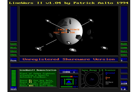 Download LineWars II | DOS Games Archive