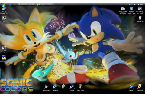 Sonic Colors Wallpapers HD - WallpaperSafari
