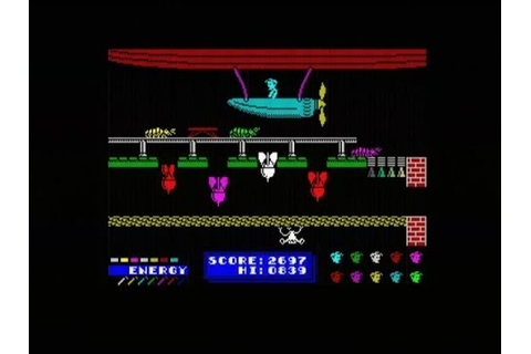 DYNAMITE DAN (ZX SPECTRUM - FULL GAME) - YouTube