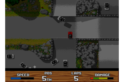 Super Cars II - The Company - Classic Amiga Games