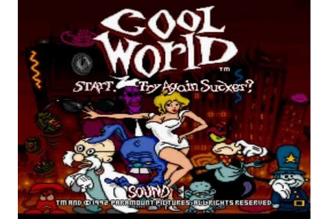 Let's Play Cool World! (Part 1) (SNES) - YouTube