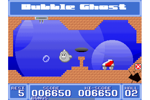 Bubble Ghost (2003) Windows game