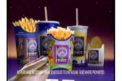 McDonald's Disney Masterpiece Trivia Challenge Ad from ...