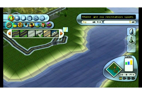 Simcity Creator Wii Footage - YouTube