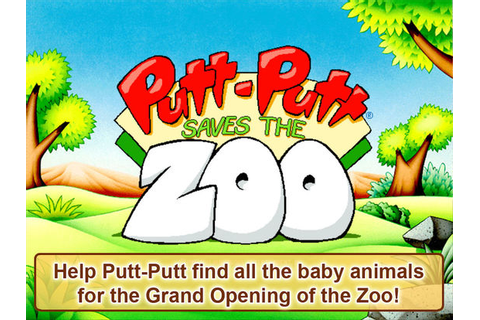 Putt-Putt Saves The Zoo on the App Store