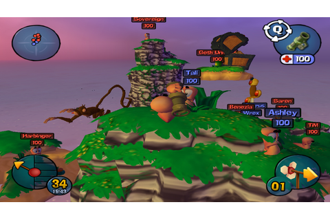 Worms 3D - Full Version Games Download - PcGameFreeTop