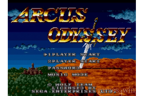 Arcus Odyssey. Download and Play Arcus Odyssey Game ...
