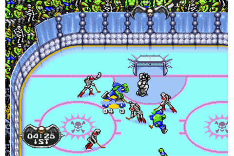 Play Mutant League Hockey Sega Genesis online | Play retro ...