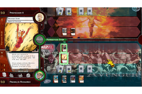 Marvel Trading Card Game - A Video Game Retrospective ...