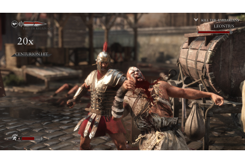 Ryse Son of Rome gameplay 2 - IlVideogioco.com