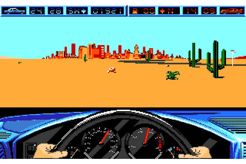 Download Highway Patrol 2 racing for DOS (1990 ...