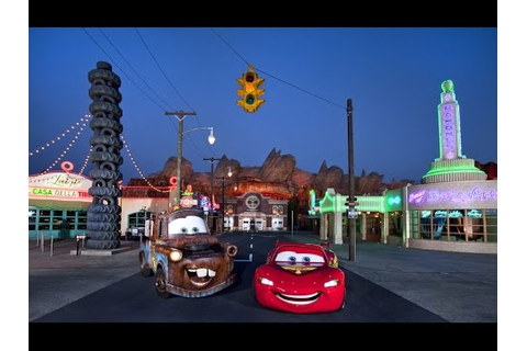 Cars Quatre Roues Rallye | Walt Disney Studios Paris - YouTube
