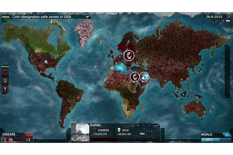 Plague Inc: Evolved - Necroa Virus - YouTube
