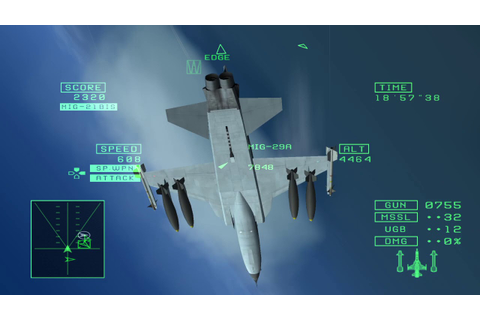 Ace Combat:Squadron Leader-Mission 2 - YouTube