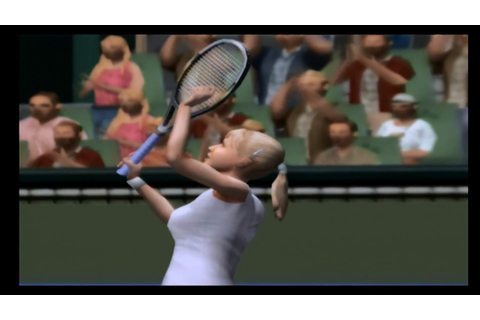 Pro Tennis WTA Tour - Gamecube Gameplay - YouTube