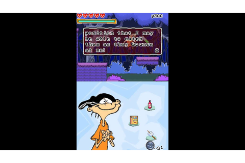 Nintendo DS Longplay [053] Ed, Edd n Eddy: Scam of the ...