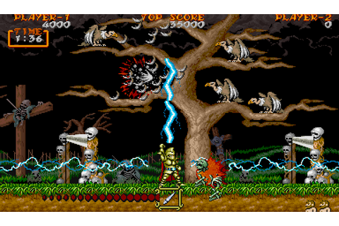 Ghouls 'n Ghosts (1988) by Capcom Arcade game