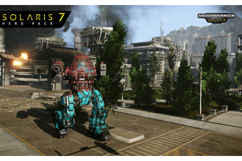 Multiplayer BattleTech: Solaris on Qwant Games