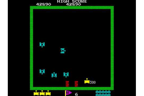 Arcade Game: Tank Battalion (1980 Namco) - YouTube