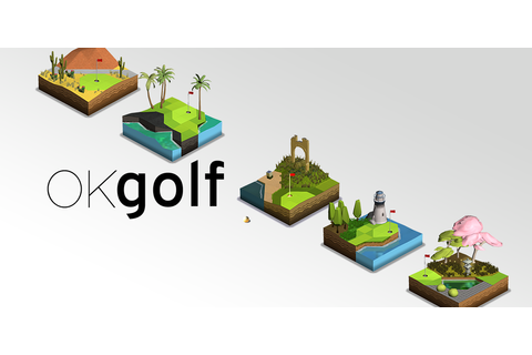 Ok Golf ##Golf | Pocket game, Game logo, Different games