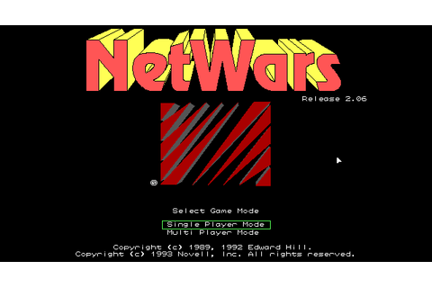 Netwars | Old MS-DOS Games | Download for Free or play in ...