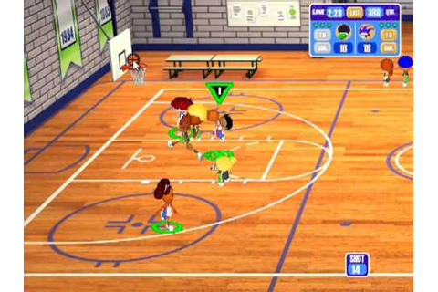 Backyard Basketball Season Playthrough: Game 1 - Court ...