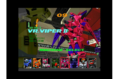 Virtual On Cybertroopers (Virtual On Operation Moongate ...