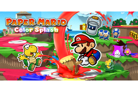 Paper Mario: Color Splash | Wii U | Games | Nintendo