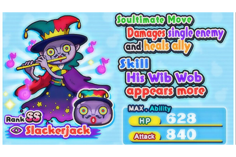 Yo kai watch Wibble Wobble US // Slackerjack score attack ...