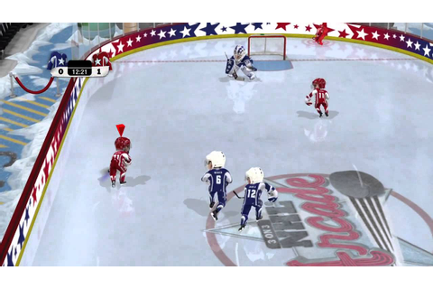 3 on 3 NHL Arcade Gameplay — XBox 360 {60 FPS} - YouTube