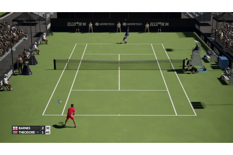 AO International Tennis Gameplay - YouTube