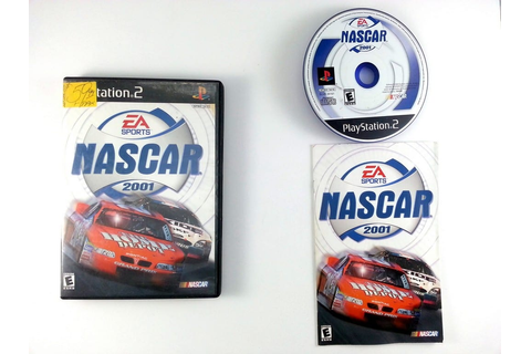 NASCAR 2001 game for Playstation 2 (Complete) | The Game Guy