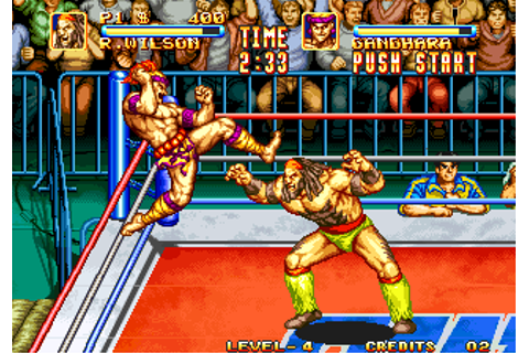 3 Count Bout / Fire Suplex ROM Download for Neo Geo - Rom ...