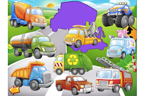 Trucks and Things That Go Puzzle Game on the App Store
