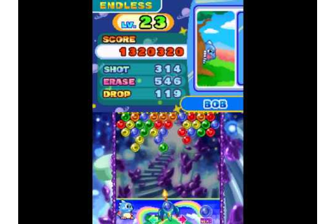 Puzzle Bobble Galaxy -Ending scene plus Endless game - YouTube