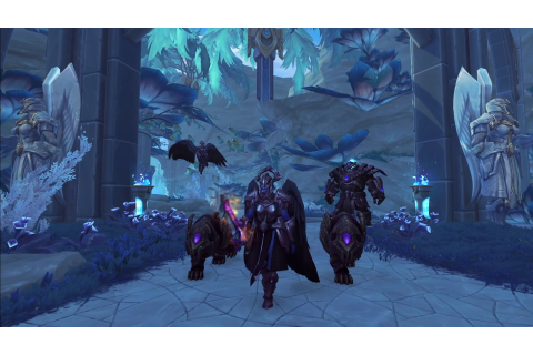 Get a look at the new World of Warcraft: Shadowlands zones ...