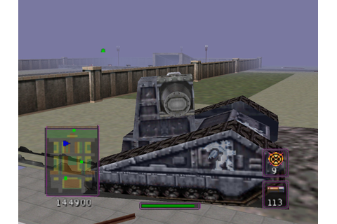 BattleTanx - Global Assault (USA) ROM
