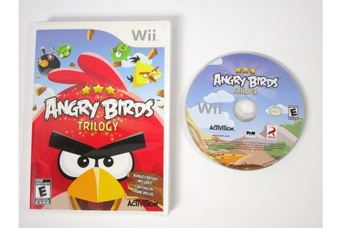 Angry Birds Trilogy game for Wii | The Game Guy