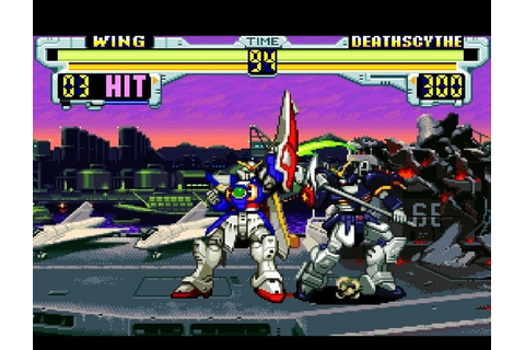 Gundam Wing: Endless Duel (SNES / Super Nintendo) Screenshots
