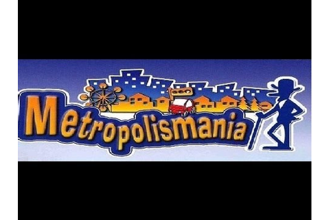 Classic PS2 Game Metropolismania on PS3 in HD 1080p - YouTube