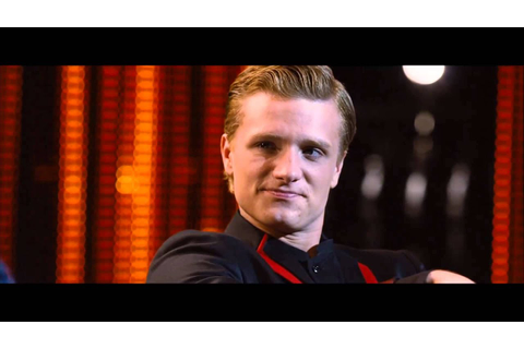 The Hunger Games: Peeta and Caesar Flickerman Interview [HD] - YouTube