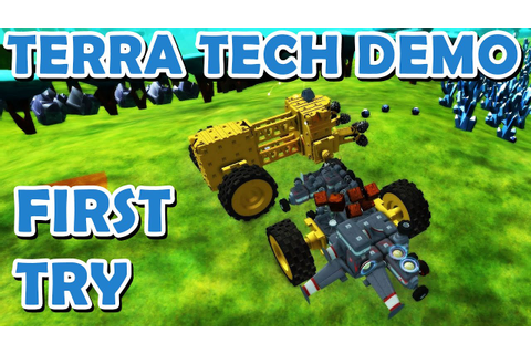 Terra Tech Demo - Fun game to try! (Commentary) - YouTube