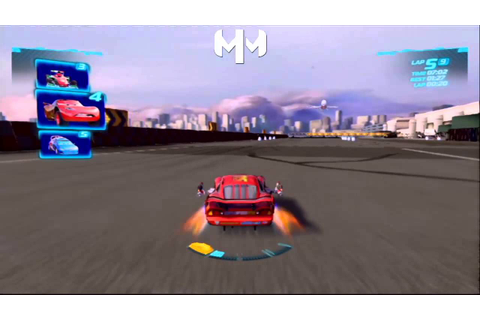 Cars 2 Game English - Daredevil Lightning Mcqueen Runway ...