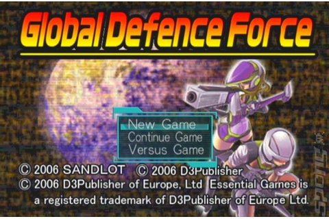 Screens: Global Defence Force - PS2 (1 of 19)