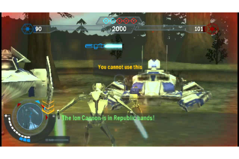 Star Wars Battlefront: Elite Squadron Gameplay (PSP) - YouTube